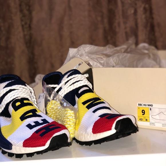 outlet store 6c143 885b5 BBC x Adidas Nmd Hu Pharrell 8-13 BBC Human Race NWT